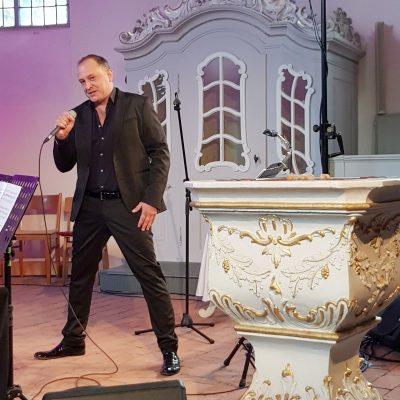 Björn Casapietra in der Brücker Lambertuskirche