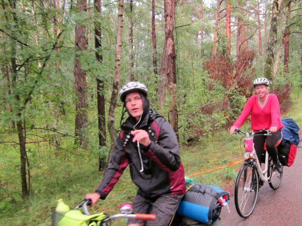 Schweden 2017: Schwedenfahrt irgendwann nach dem Regen lacht man