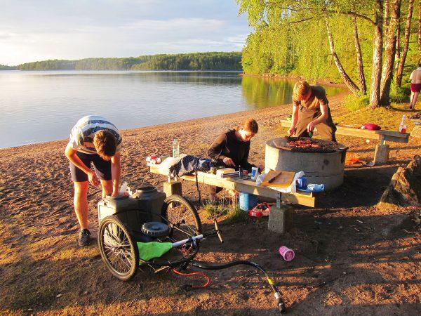 Schweden 2017: Schwedenfahrt manchmal war es schön