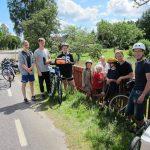 Schweden 2017: Schwedenfahrt Begegnung mit Einheimischen beim Wa