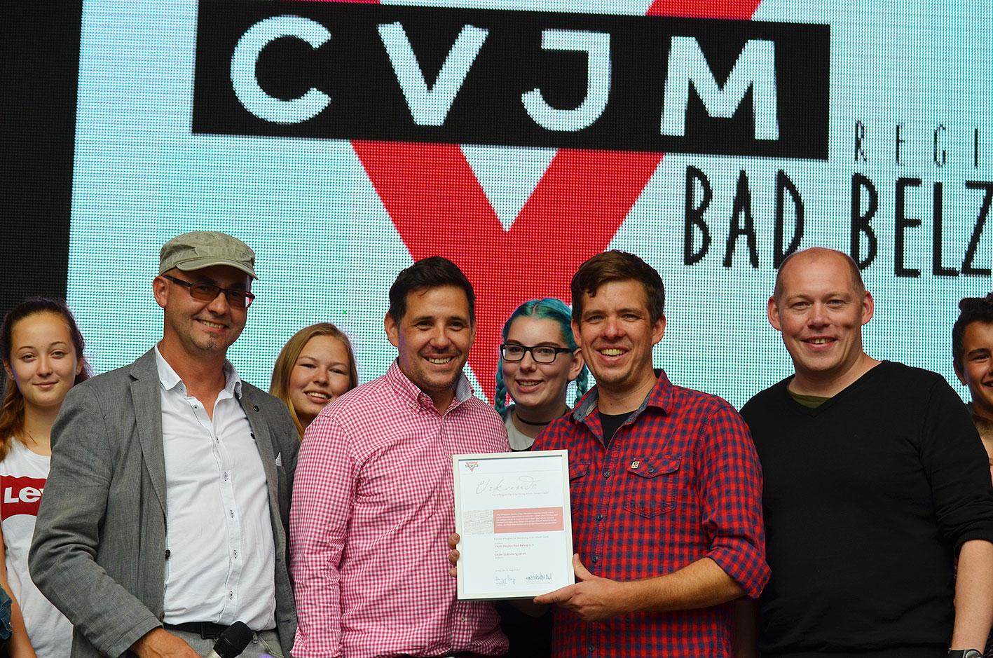 CVJM Region Bad Belzig erhält Gründerpreis
