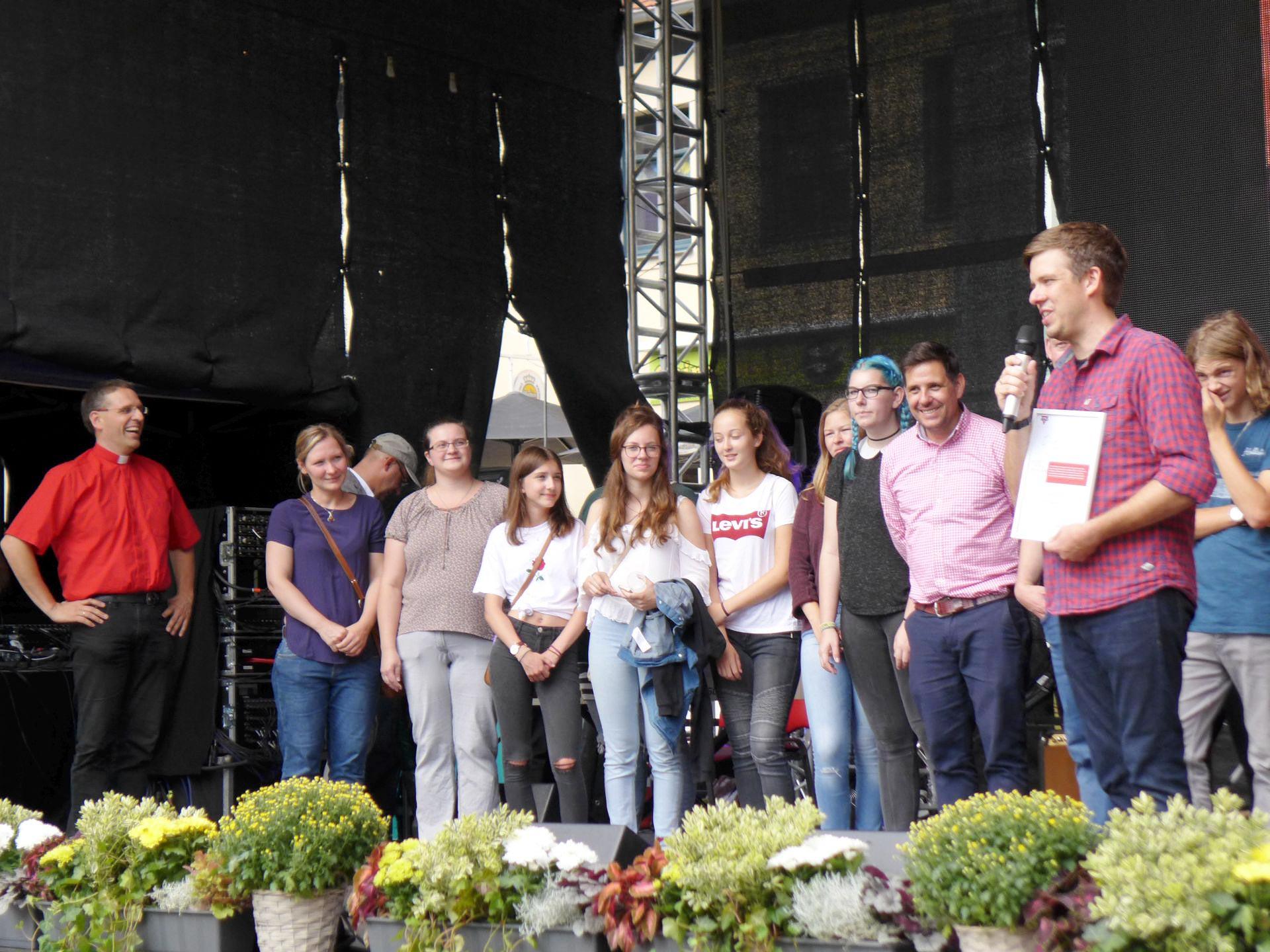 CVJM-Preis beim Belziger Altstadtsommer