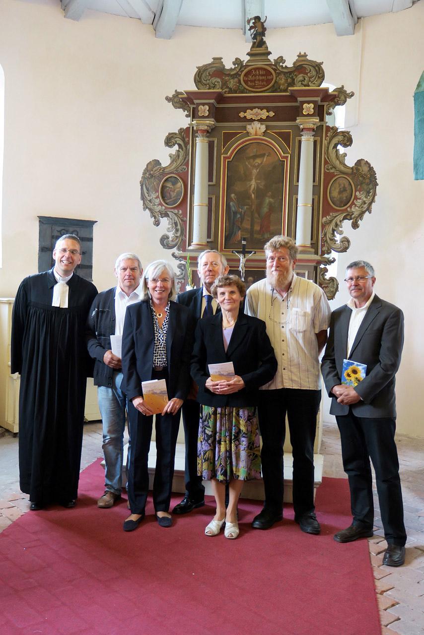 Goldene Konfirmation in Brück Rottstock 2017