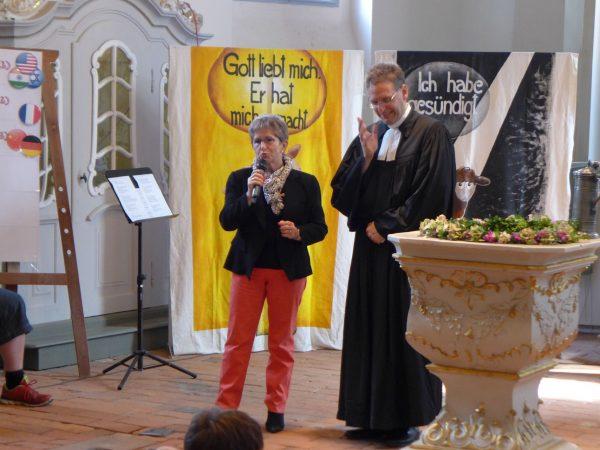 Abschluss GD zur KiJuWo Frau Tiemann spricht
