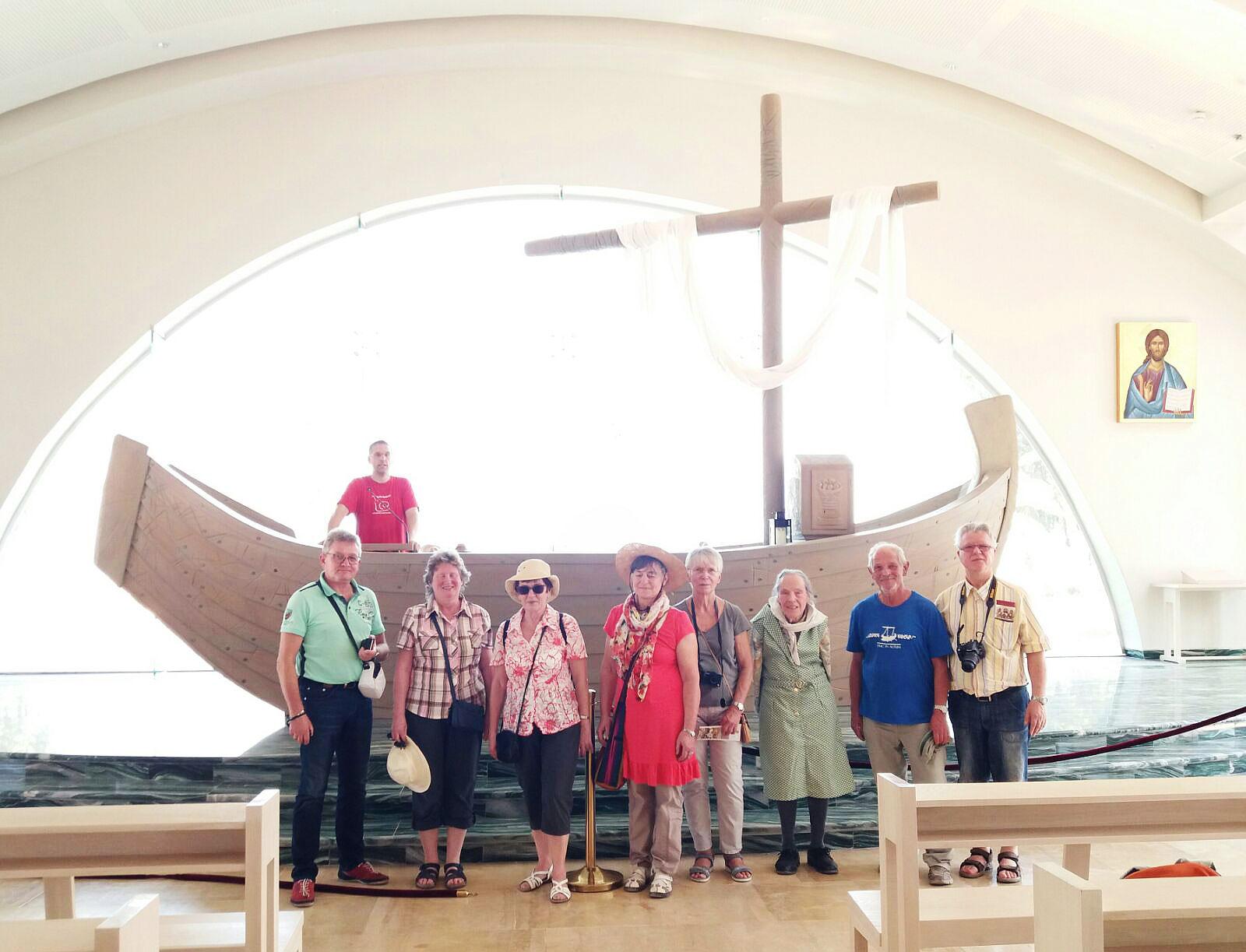 Reise nach Israel 2017: am See Genezareth