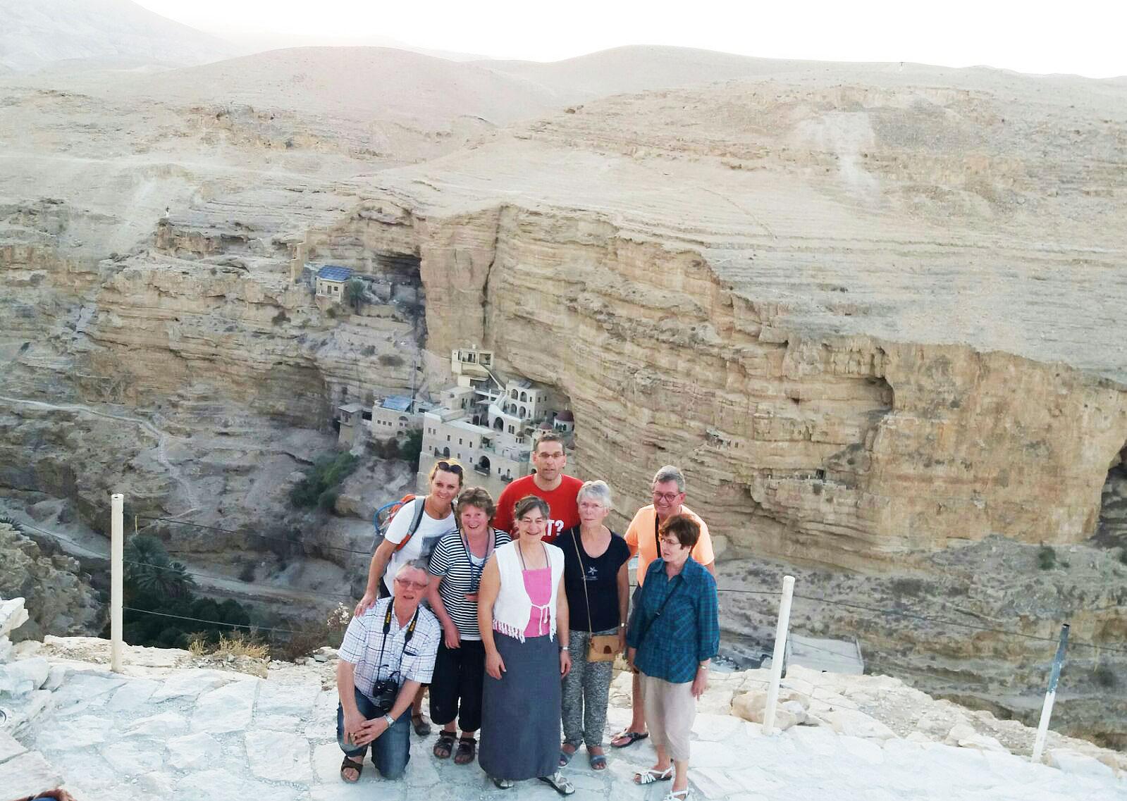 Reise nach Israel 2017: berühmtes Höhlenkloster bei Jerichow