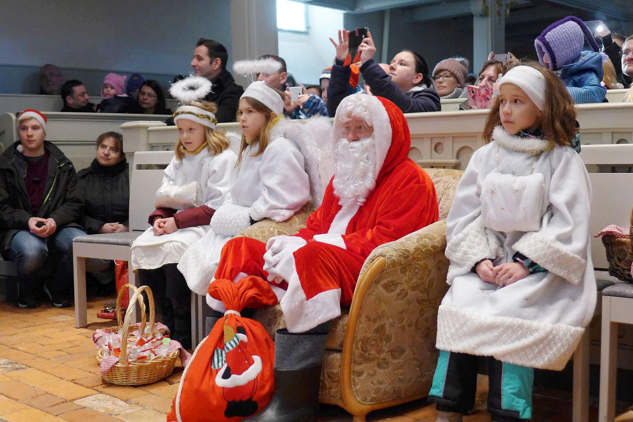 aufmerksamer-Weihnachtsmann