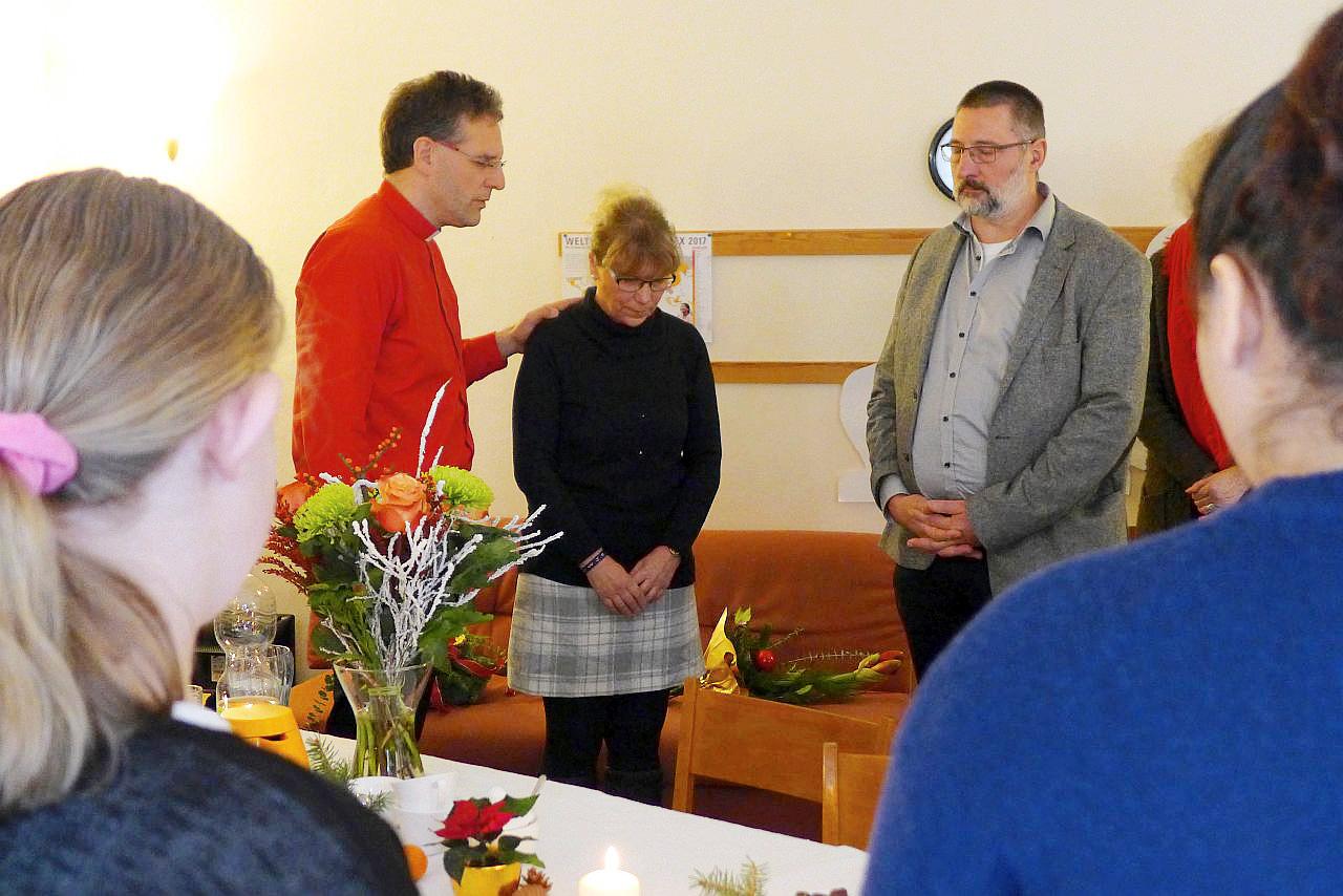 30 Jahre Dienst an den Menschen - Ehrung und Segnung von Cristina Zesche