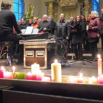 Adventskonzert mit dem Brücker Gospelchor in der Lambertuskirche 2017