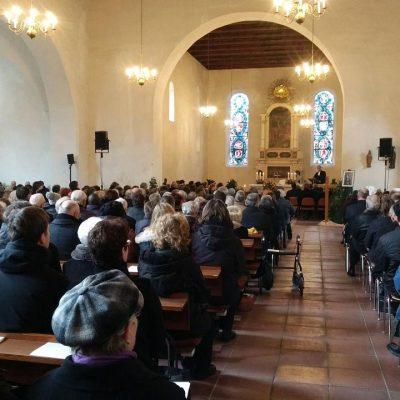 Trauerfeier für Dr. Martin Gestrich