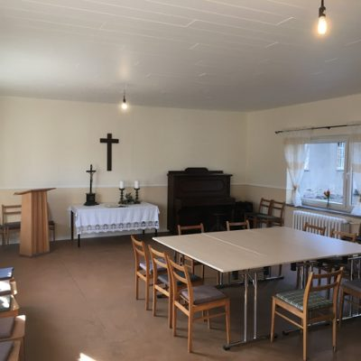 Gemeinderaum Rottstock renoviert