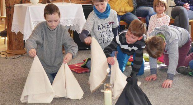 Authentischer Kinder-Gottesdienst in Brück mit Christina Zesche