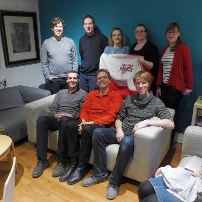 Vorstand des CVJM Region Bad Belzig 2018
