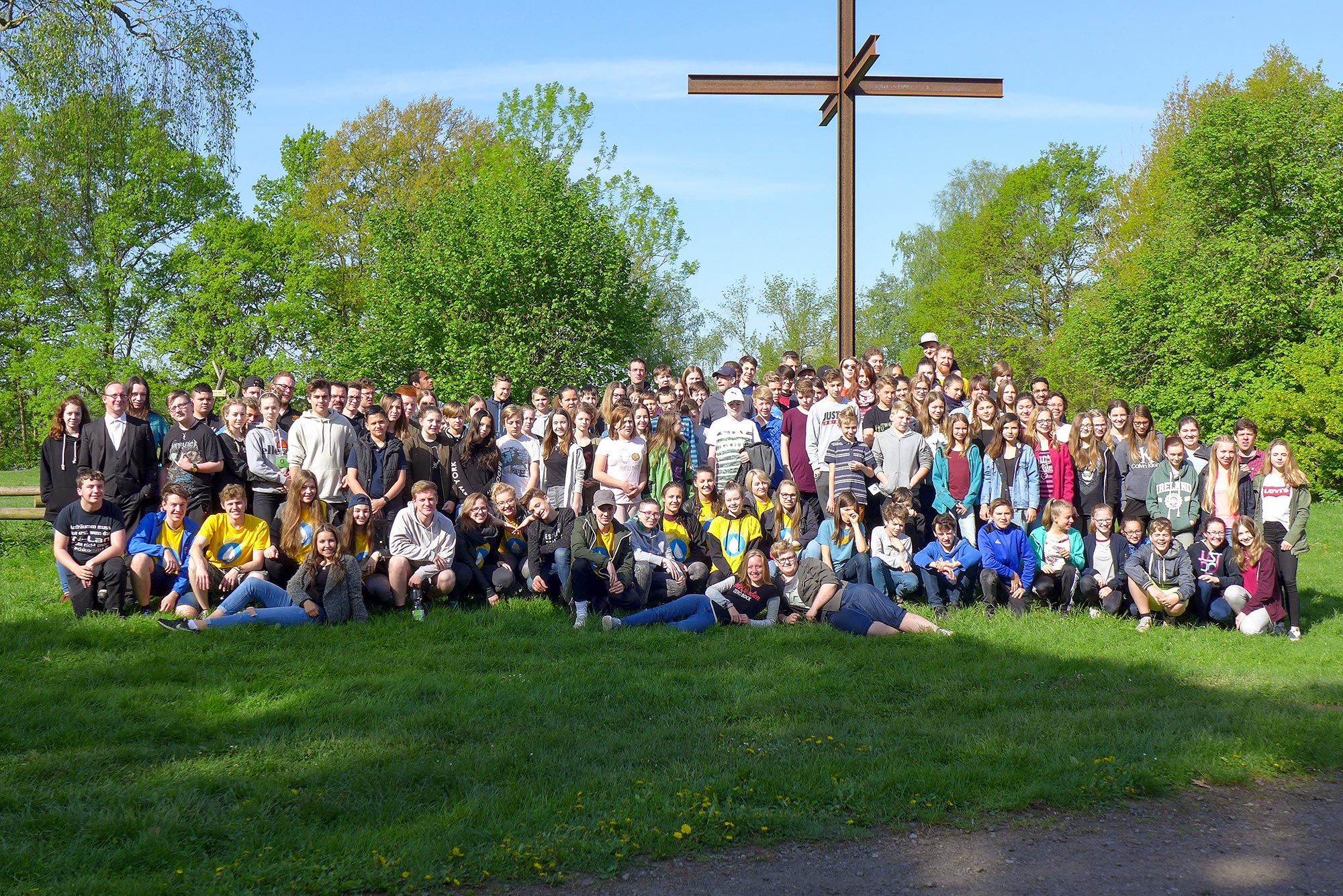 Gruppenfoto - Konfirmanden-Camp Mötzow 2018