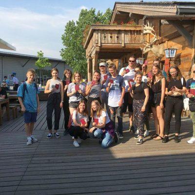 Le Chaim Israel-Belzig - Jugendaustauschgruppe nach Israel gestartet