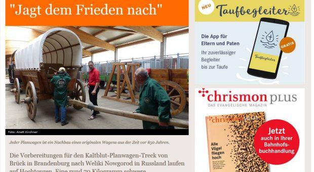 Screenshot evangelisch.de