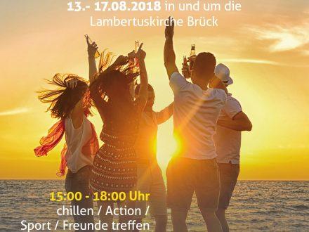 Jugendwoche in Brück 2018