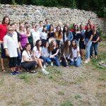 Alle Deutschen und Israelis zusammen im Waechtlerhausgarten - Le Chaim Israel