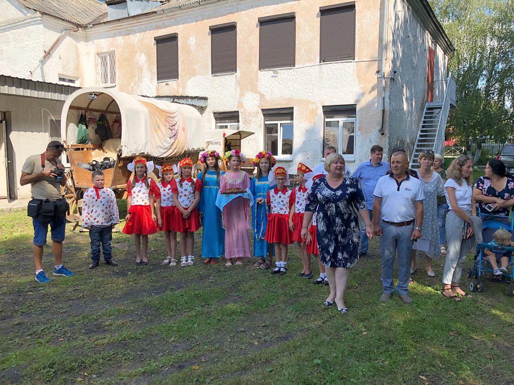 Begrüßung in Kaliningrad - Titanen on tour in Kaliningrad