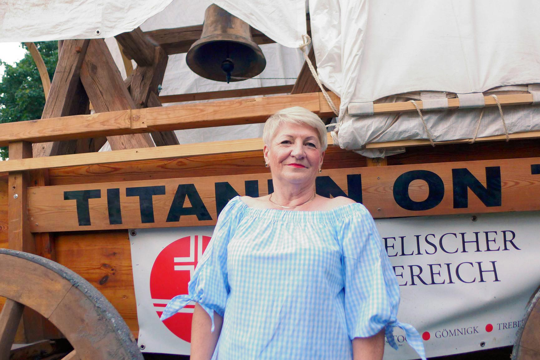 Bronislawa Mazurek Bürgermeisterin vom Haus am See - Titanen on tour 2018