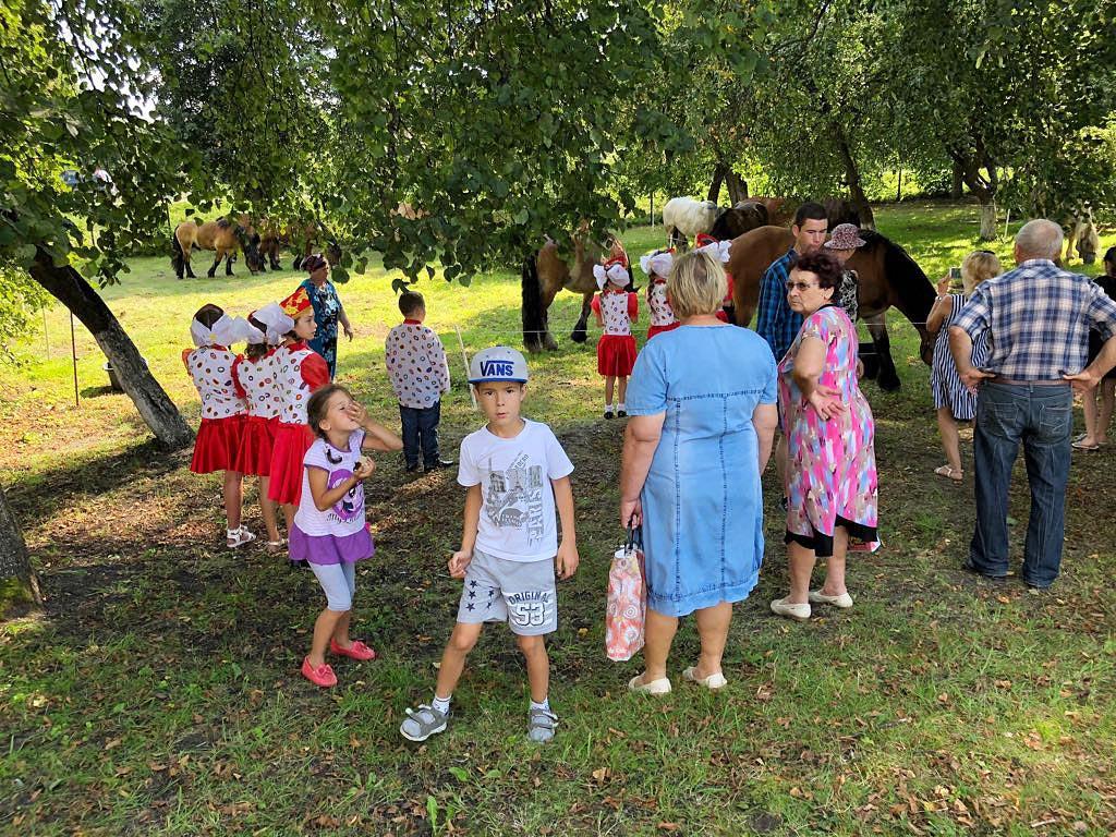 Pferde verbinden - Titanen on tour in Kaliningrad