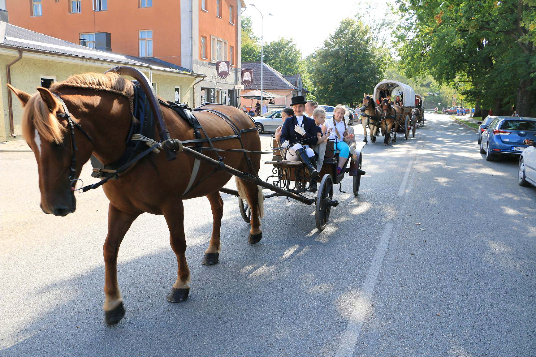 Letten machen sich mit auf den Weg - Titanen on tour in Estland