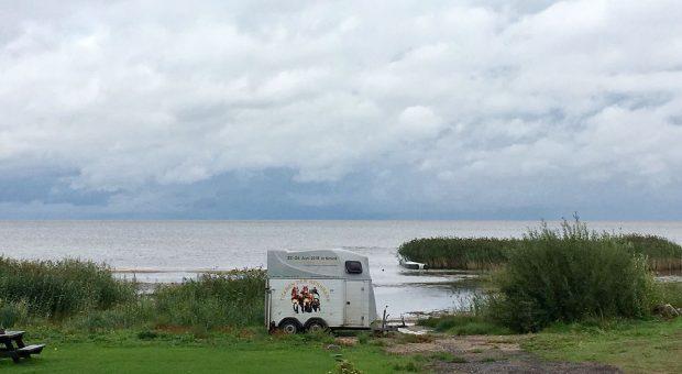 Am Peipussee in Estland - Titanen on tour
