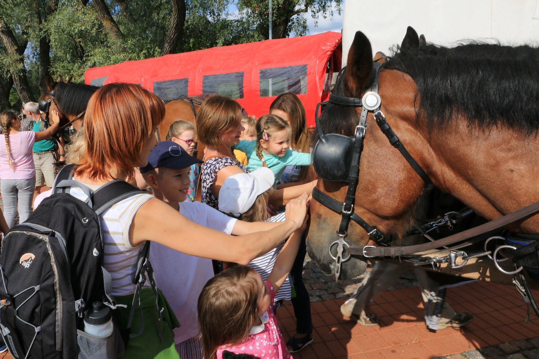 Begrüßung in Lettland - Titanen on tour