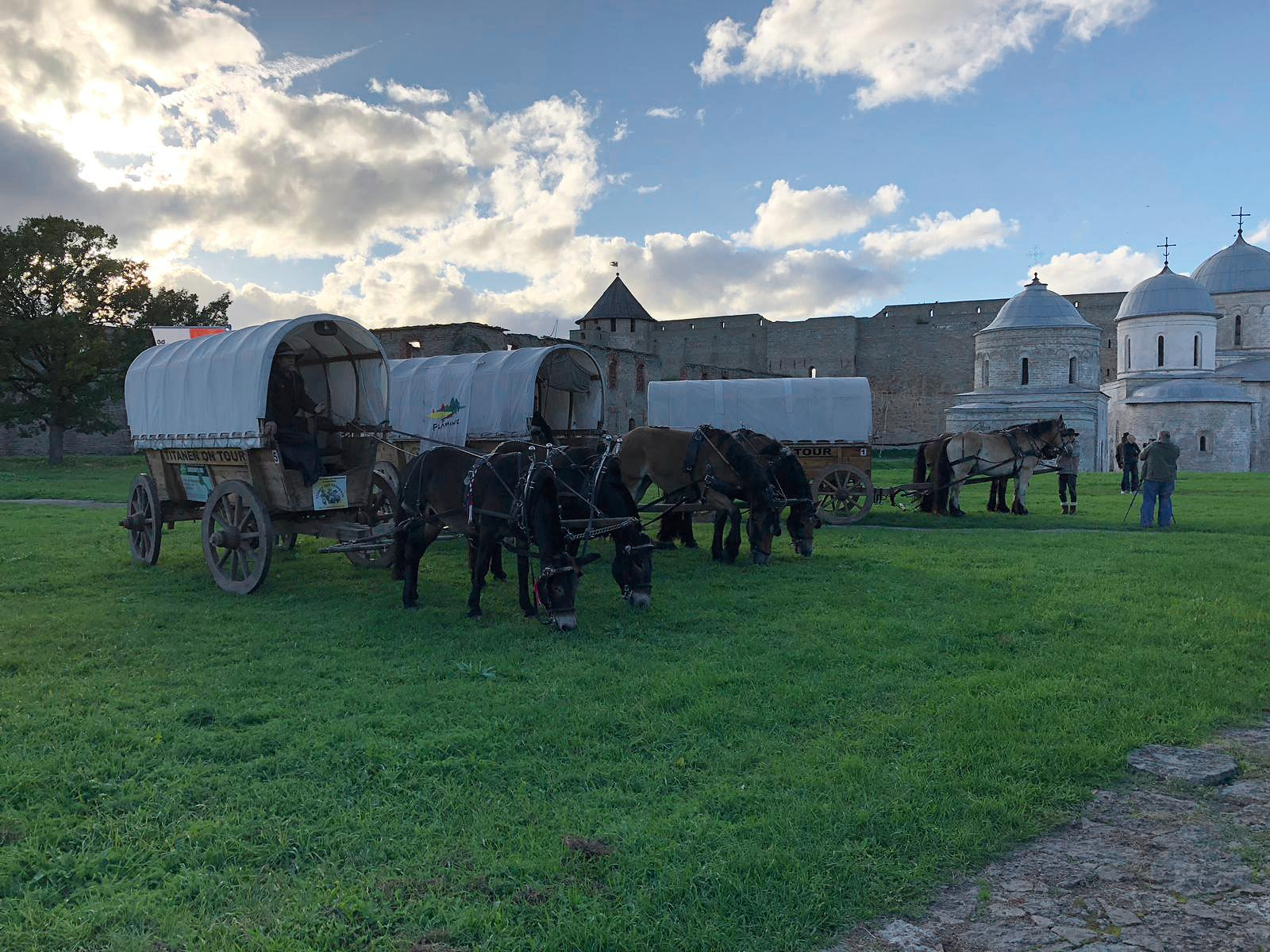 Burg Ivangorod - Titanen on tour in Russland