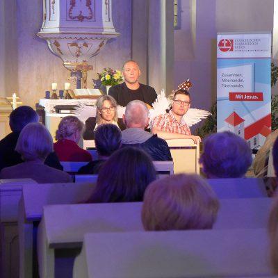 Satiriker Pfarrer Maybach in Brück
