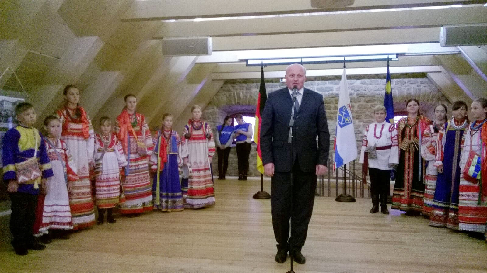 Vizegouverneur Igor Wiktorowitsch Petrow - Titanen on tour in Russland