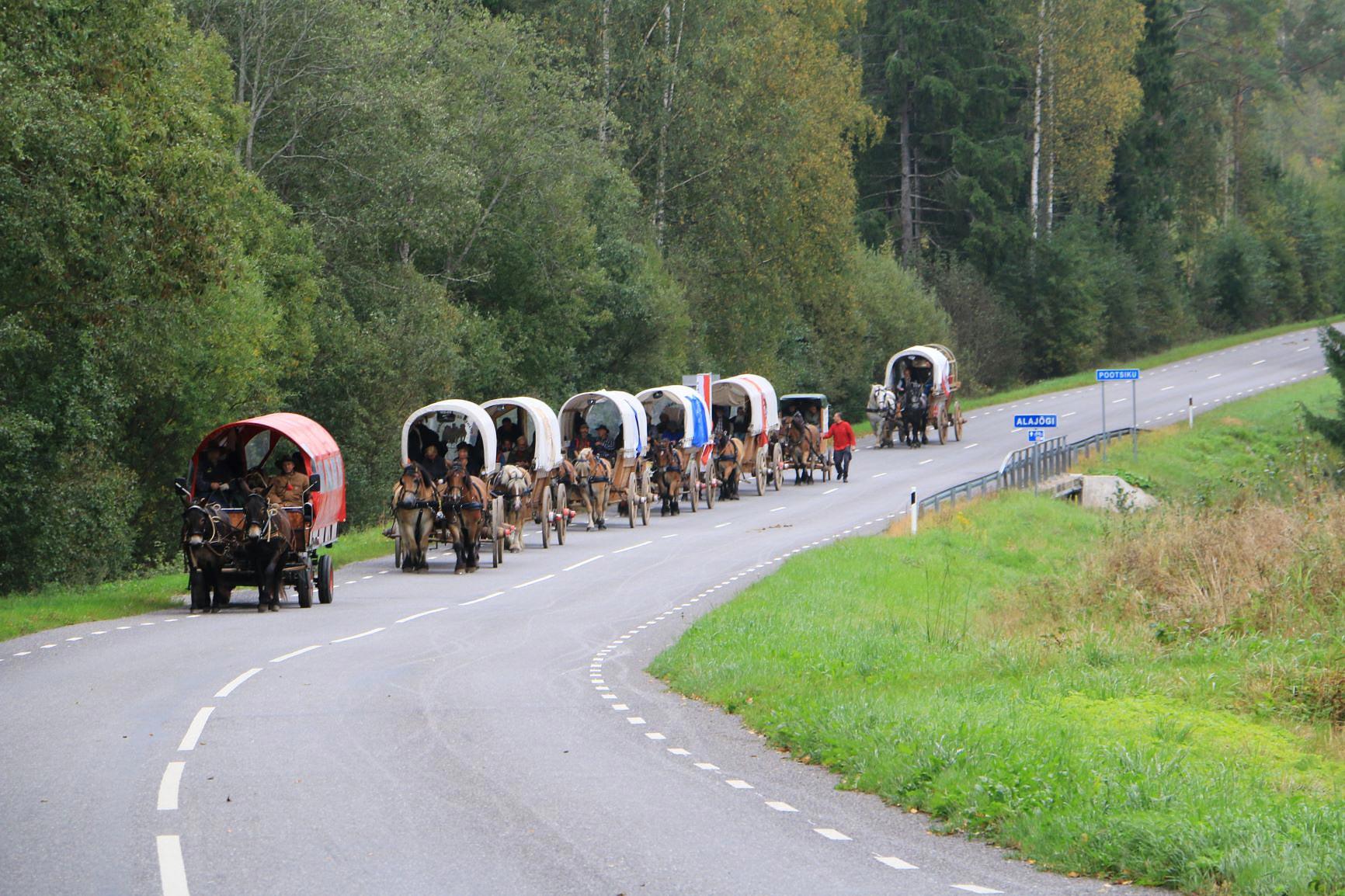 immer weiter neuen Abenteuern entgegen - Titanen on tour in Estland