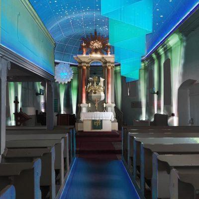 Entwurf Lichtkonzept Eselpilgerlichkirche Neuendorf