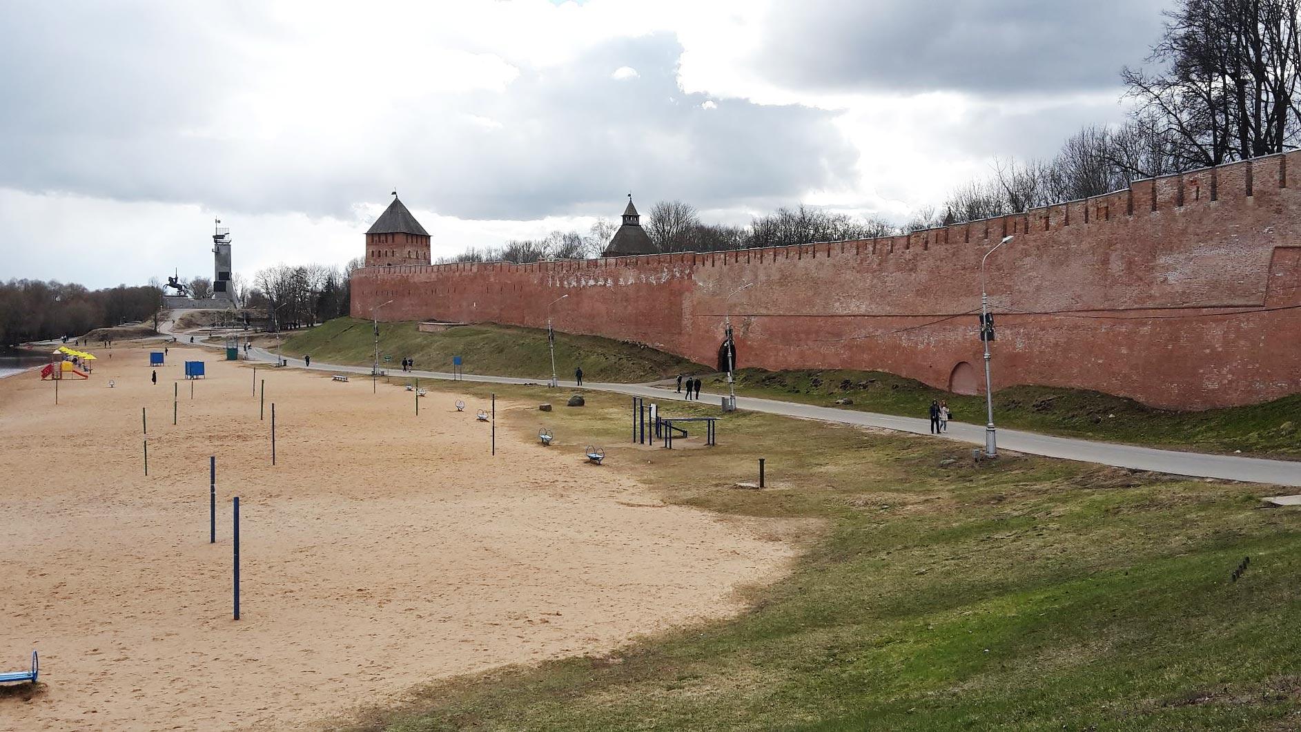 Kreml von Nowgorod - Titanen on tour in Russland