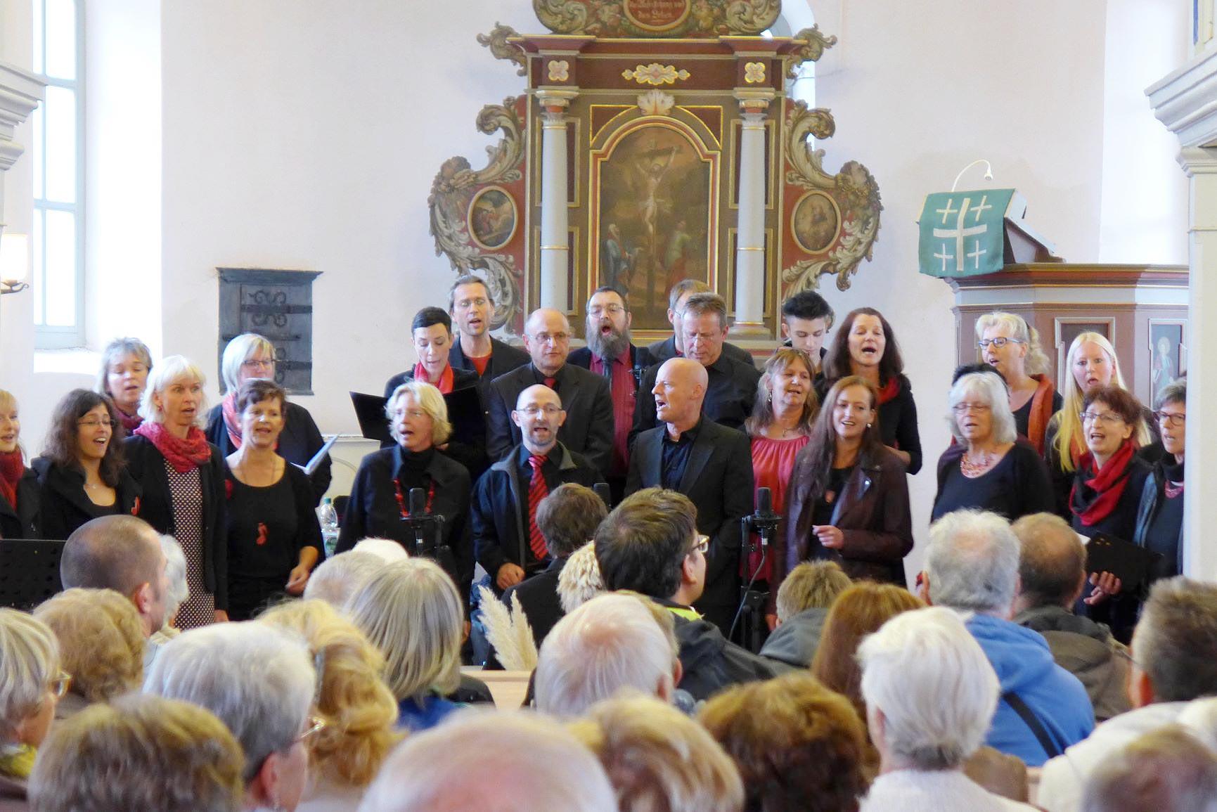 Gospelchor - Gemeindefest 2018