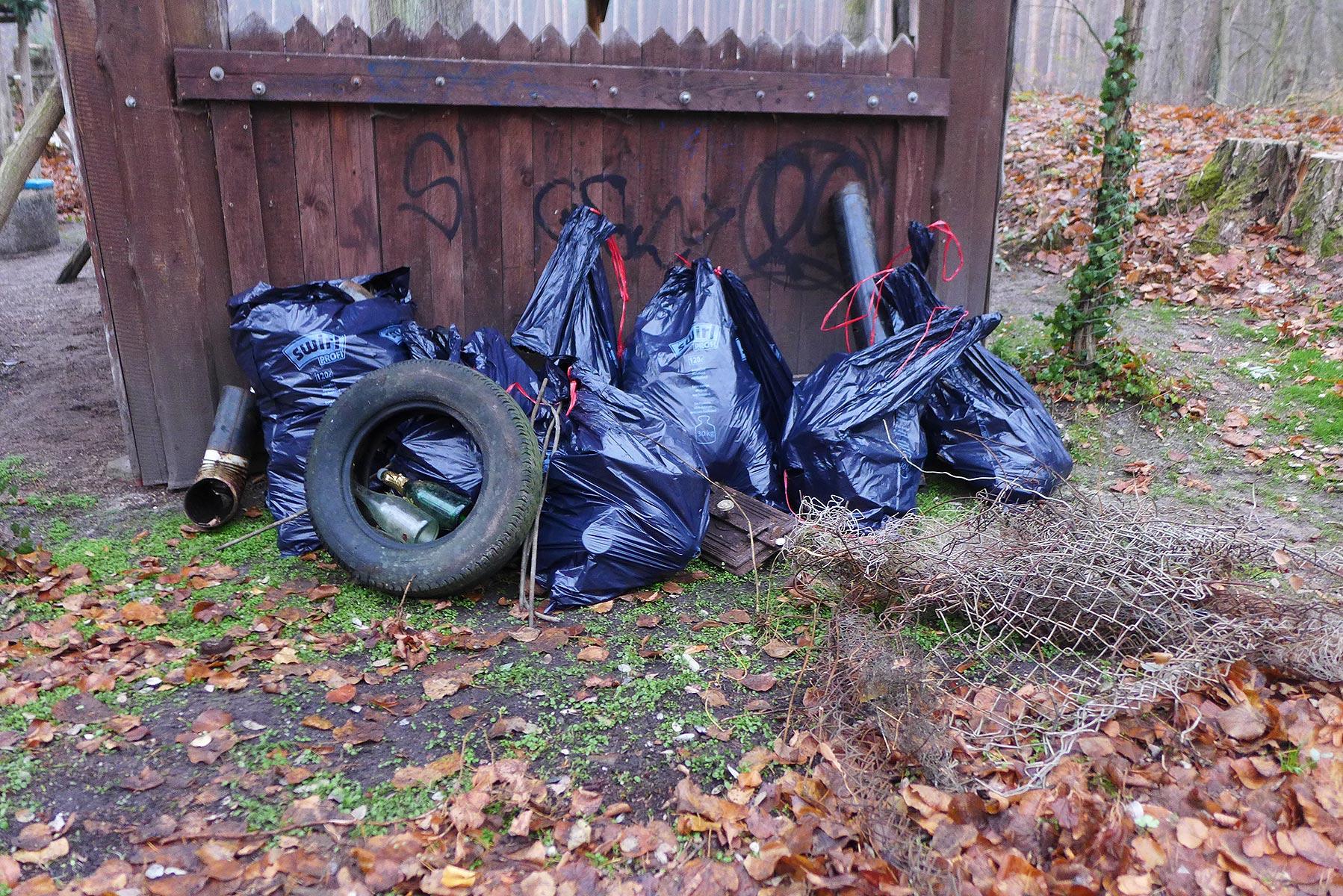 """Müllbeute - Pfadfinder """"Baooms"""""""