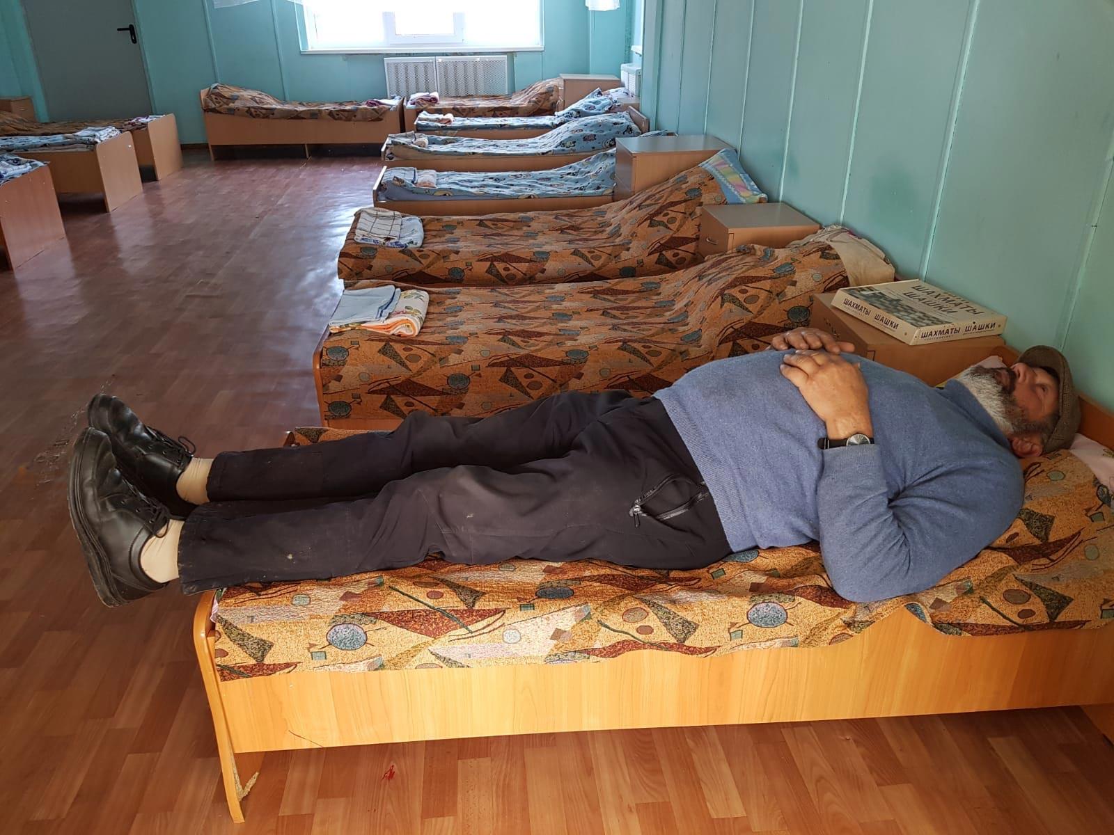 Titanen on tour - heute schlafen im Kindergruppenraum