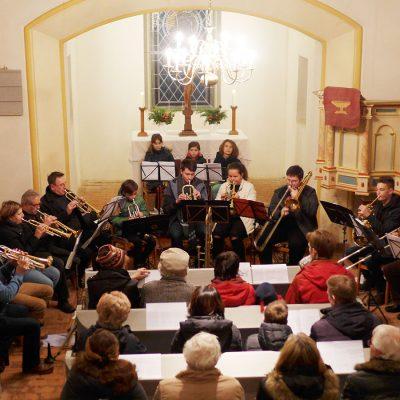 Weihnachtskonzert in Gömnigk mit dem Posaunenchor 2018