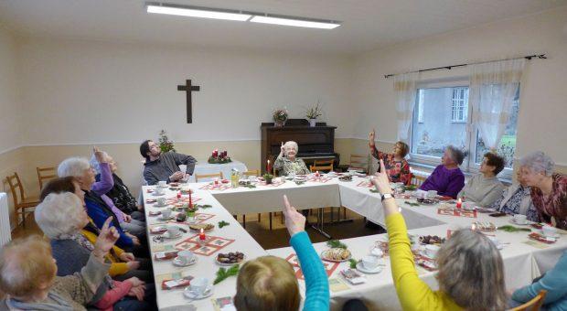Helles Licht bei der Frauenhilfe in Rottstock
