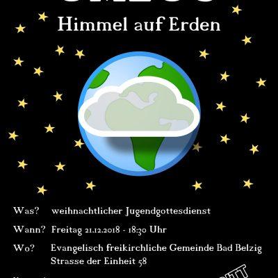 """""""UMZUG – Himmel auf Erden"""" - Weihnachtsjugendgottesdienst in Bad Belzig"""