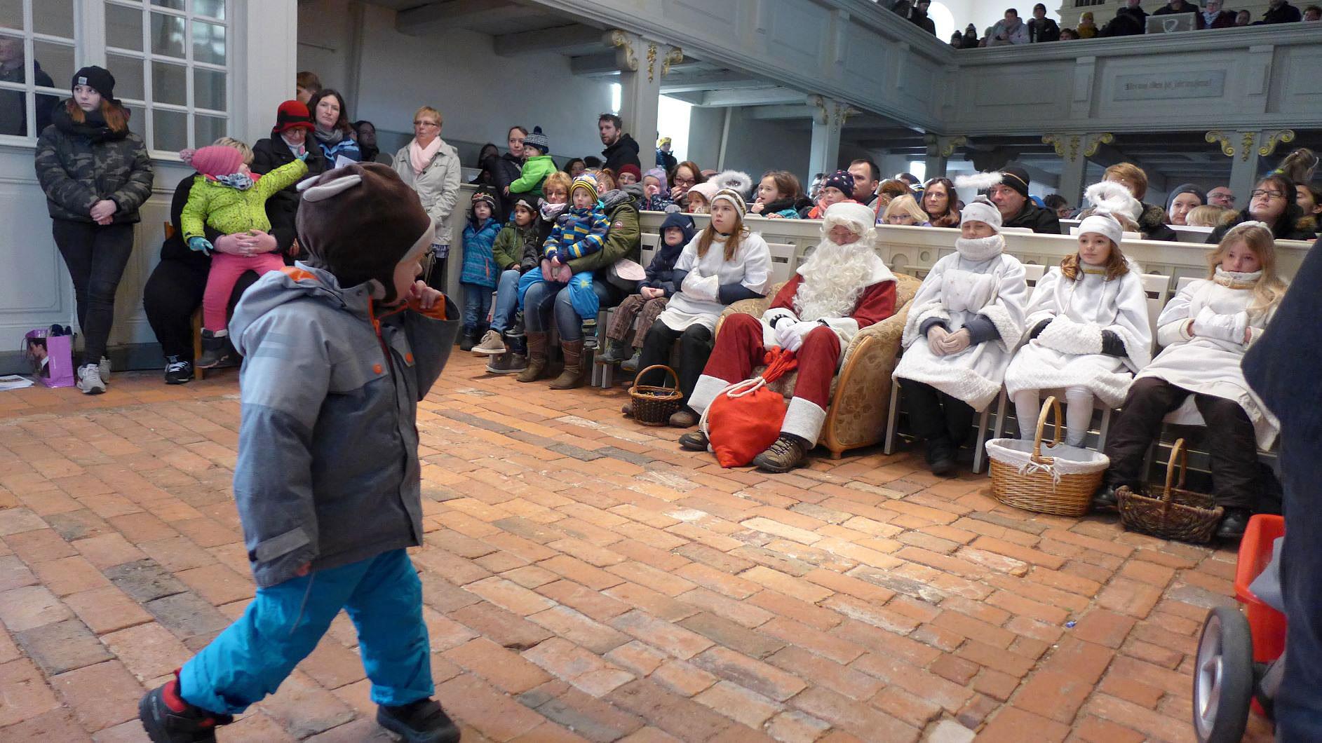 Was will denn hier der Weihnachtsmann - Weihnachtskonzert in der Lambertuskirche 2018