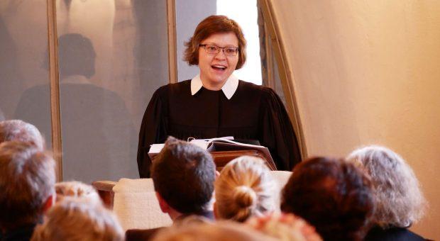 Pfarrerin Christiane Moldenhauer, Bad Belzig