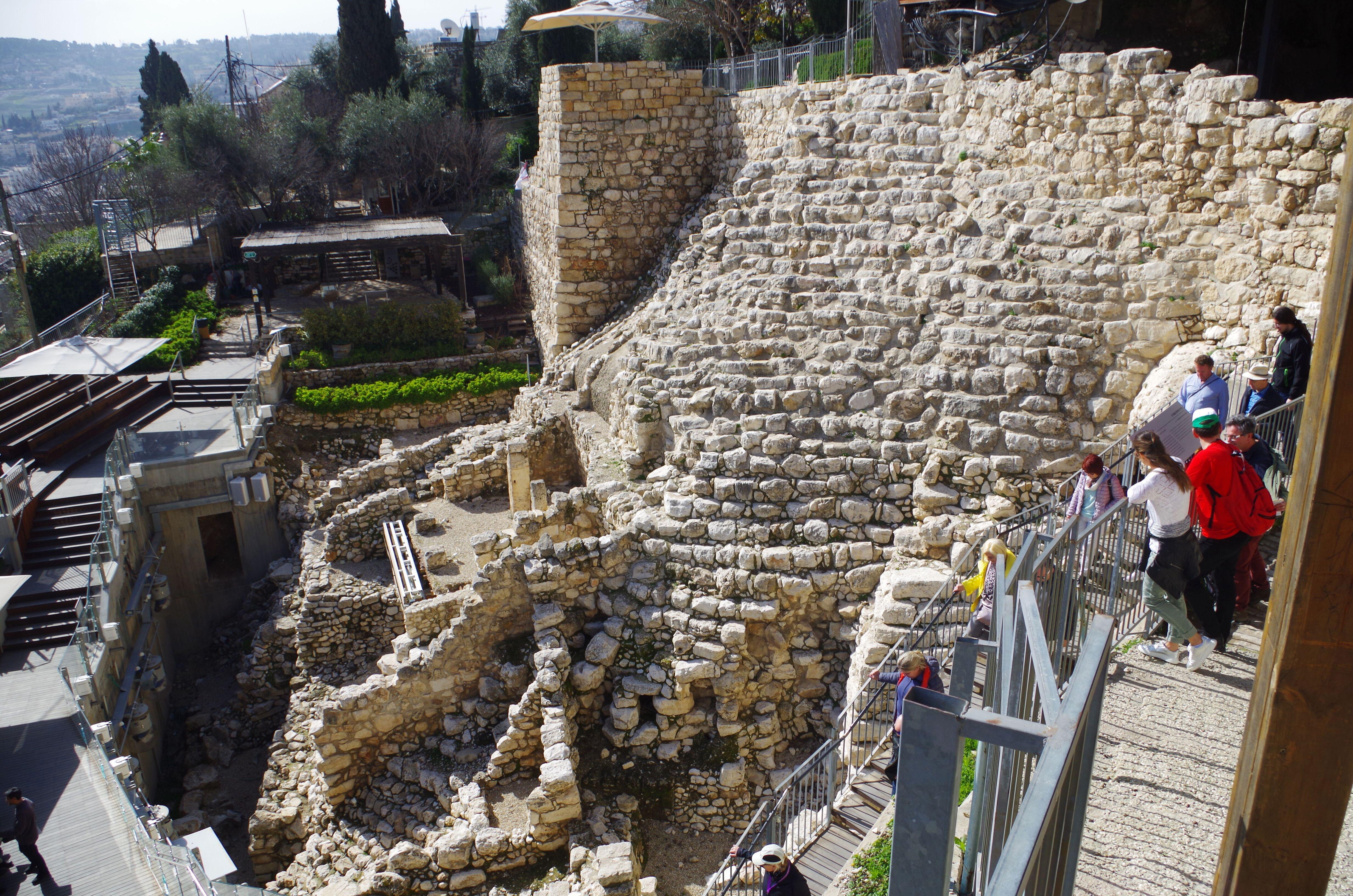 Davidstadt Jerusalem
