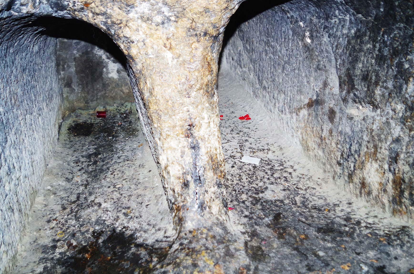 Mögliches Grab von Jesus in der Jerusalemer Grabeskirche