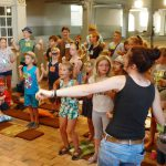 Start mit Musik und Bewegung - Kinder- und Jugendwoche in Brück