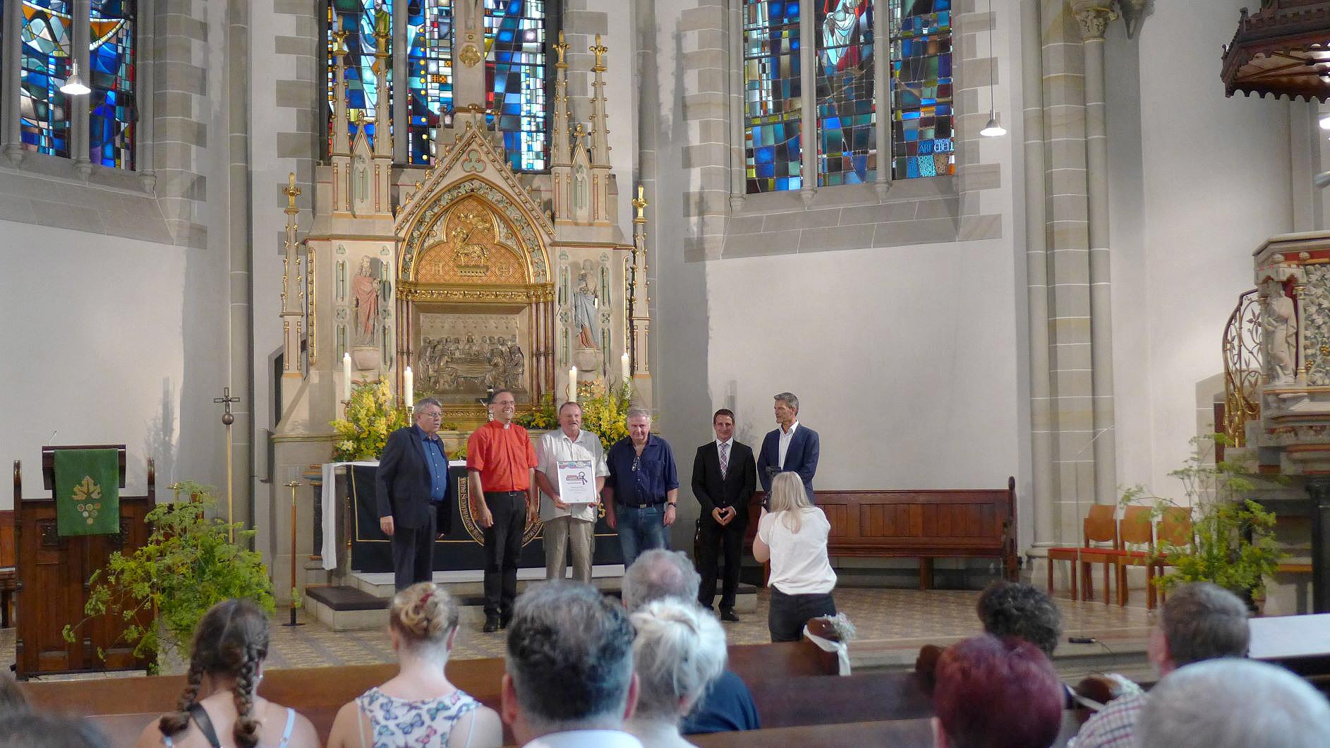Titanen on tour - Preisverleihung Chrismon Gemeinde 2019