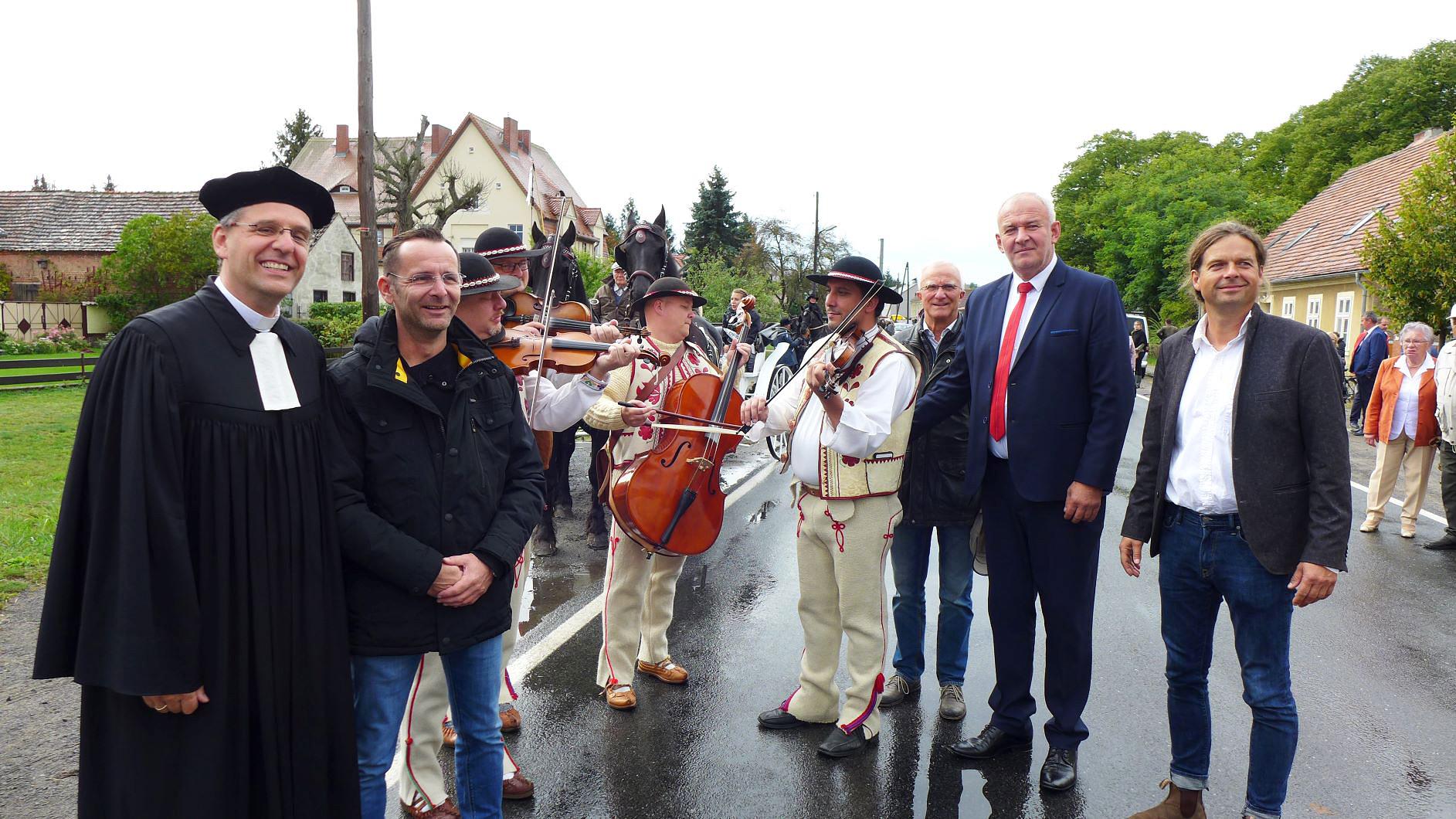 Erntedankumzug - Erntefest 2019 in Brück
