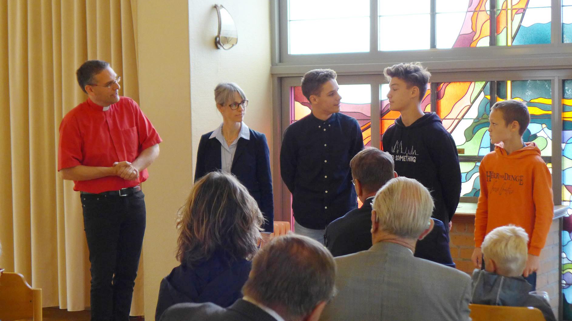 Familie Kautz stellt sich in Marienfliess vor - Zukunftswerkstatt Quellort Kloster Marienfliess