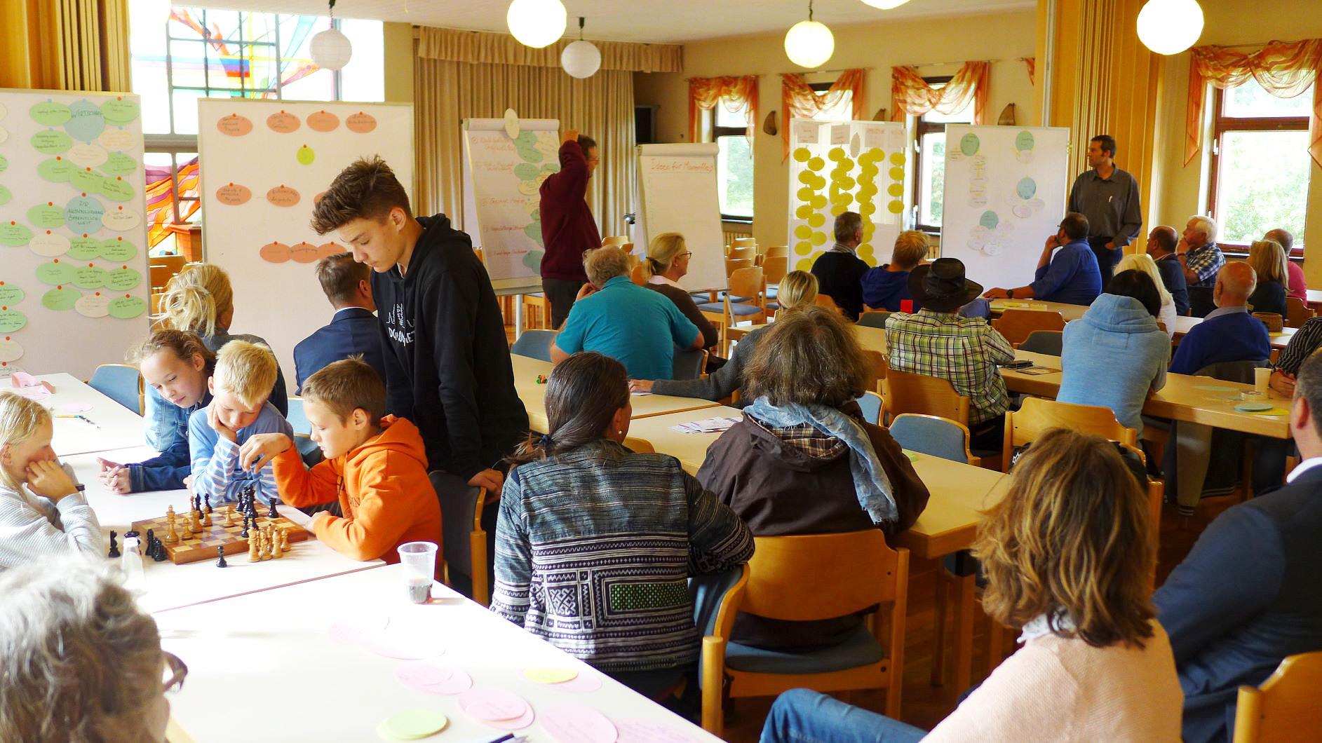 Alle Generationen denken mit - Zukunftswerkstatt Quellort Kloster Marienfliess