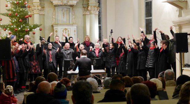 Weihnachtskonzert mit dem Brücker Gospelchor